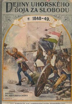 Dejiny uhorského boja za slobodu r. 1848-49 obálka knihy