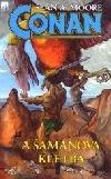 Conan a šamanova kletba obálka knihy
