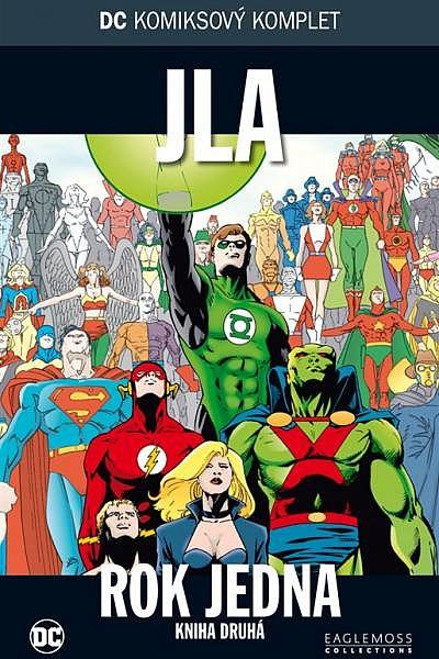 582e2663f46 DC komiksový komplet  JLA  Rok jedna  Kniha druhá - Mark Waid ...