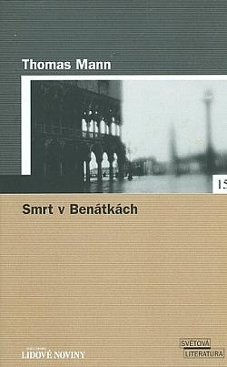 Smrt v Benátkách obálka knihy