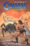 Conan na Ostrově ledu obálka knihy