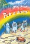 Puk a duha aneb Tři skřítci na návštěvě v říši lidí obálka knihy
