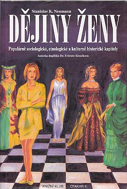 Dějiny ženy obálka knihy