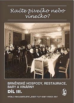 Račte pivečko nebo vínečko? Díl III. obálka knihy