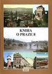 Kniha o Praze 8 obálka knihy