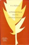Literatúra, jazyk, spoločnosť