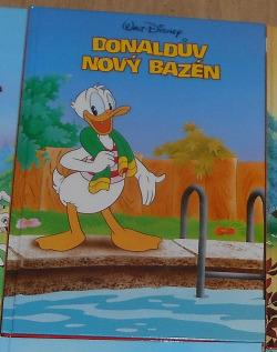Donaldův nový bazén obálka knihy