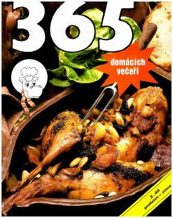 365 domácích večeří - podzim - zima obálka knihy