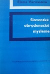 Slovenské obrodenecké myslenie