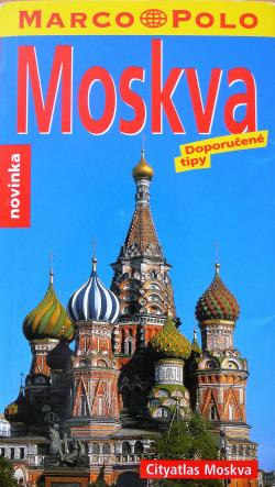 Moskva obálka knihy