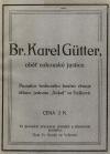 Br. Karel Gütter, oběť rakouské justice
