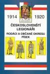 Českoslovenští legionáři - rodáci a občané okresu Písek
