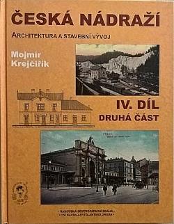 Česká nádraží – IV. díl, druhá část obálka knihy
