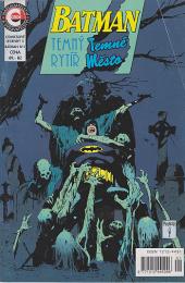 Batman: Temný rytíř, temné město obálka knihy