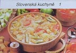 Slovenská kuchyně 1 obálka knihy