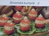 Slovenská kuchyně 2 obálka knihy