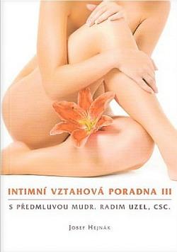 Intimní vztahová poradna III. obálka knihy