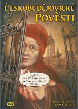 Českobudějovické pověsti obálka knihy
