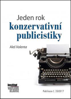 Jeden rok konzervativní publicistiky obálka knihy