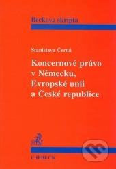 Koncernové právo v Německu, Evropské unii a České republice