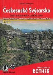 Českosaské Švýcarsko obálka knihy