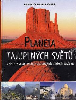 Planeta tajuplných světů obálka knihy