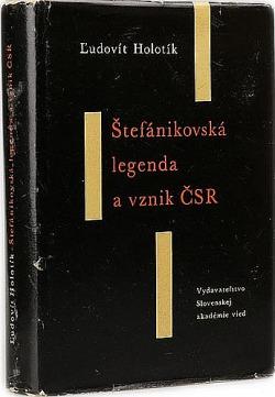 Štefánikovská legenda a vznik ČSR obálka knihy
