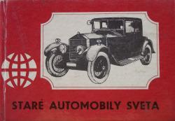 Staré automobily sveta obálka knihy