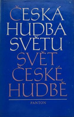 Česká hudba světu, svět české hudbě obálka knihy