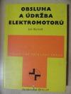 Obsluha a údržba elektromotorů