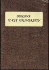 Obnova ideje univerzity. Soubor statí o významu a postavení univerzit v současném světě