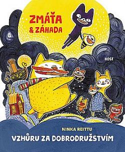 Zmáťa a Záhada - Vzhůru za dobrodružstvím obálka knihy