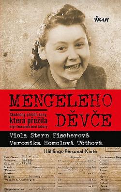 Mengeleho děvče obálka knihy