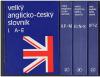 Velký anglicko-český slovník I. A–E