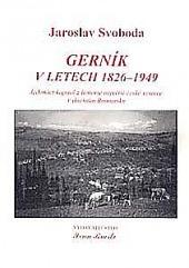 Gerník v letech 1826–1949 obálka knihy