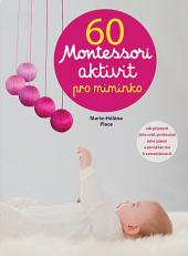 60 Montessori aktivit pro miminko obálka knihy