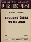 Anglicko-česká frazeologie