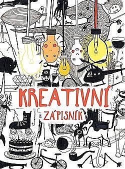 Kreativní zápisník obálka knihy