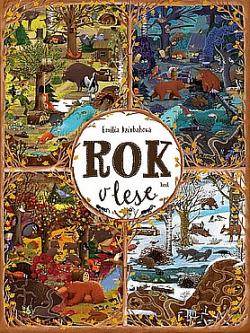 Rok v lese obálka knihy