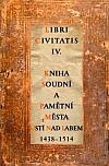 Kniha soudní a pamětní města Ústí nad Labem 1438-1514