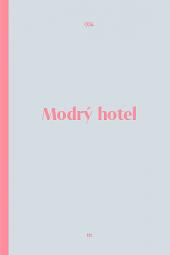 Modrý hotel obálka knihy