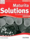 Maturita solutions 2nd Edition Pre-Intermediate Workbook with audio CD Pack