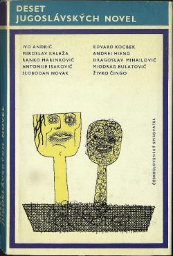 Deset jugoslávských novel obálka knihy
