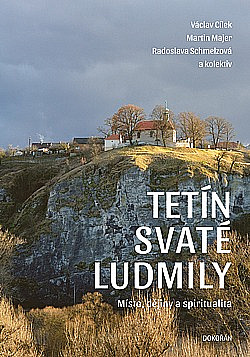 Tetín svaté Ludmily obálka knihy