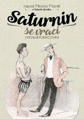 Saturnin se vrací obálka knihy