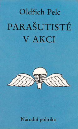 Parašutisté v akci obálka knihy