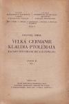 Velká Germanie Klaudia Ptolemaia. Sv. 3. Část 1