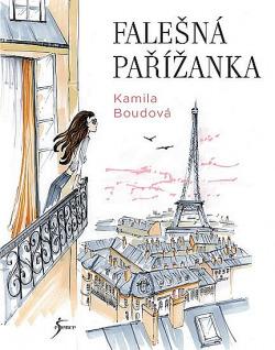 Falešná Pařížanka obálka knihy