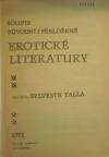 Soupis původní i přeložené erotické literatury