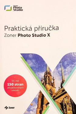 Zoner Photo Studio X. Praktická příručka obálka knihy